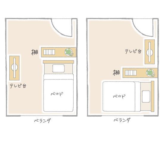 棚の置く場所で使える空間が変わる